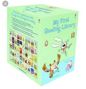 My First Reading Library Usborne  - imagine 2
