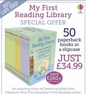My First Reading Library Usborne  - imagine 5