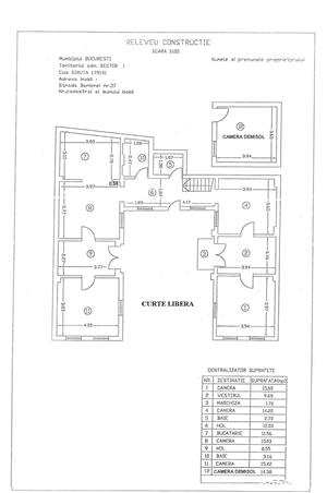 Direct Proprietar, 2 case 8 camere, 200 mp Teren Singur CURTE Pod Titulescu Metrou Basarab - imagine 10