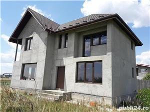 Vand - teren + casa (la gri) - oras Mihailesti - 20 km de Bucuresti - imagine 5