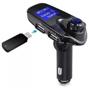 Modulator FM Auto T11 CU Bluetooh, Citire Usb Si Microsid Mp3 Player - imagine 6