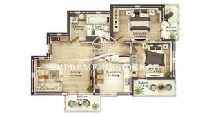 Apartament 3 camere, 75 mp utili, vanzare Doamna Stanca, COMISION 0% - imagine 7