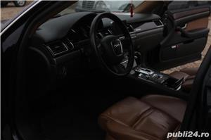 Audi A8 3.0TDI QUATTRO 4x4 Incalzire scaune fata & spate Webasto Trapa Suspensie Rate Credit Leasing - imagine 5