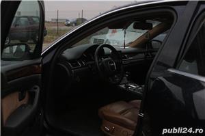 Audi A8 3.0TDI QUATTRO 4x4 Incalzire scaune fata & spate Webasto Trapa Suspensie Rate Credit Leasing - imagine 3