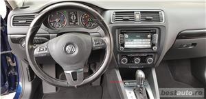 VW JETTA/ 2013.DISEL-Cutie AUTOMATA DSG II-Dotari TOP/ Impecabila.Limousine culoare Blue  - imagine 14