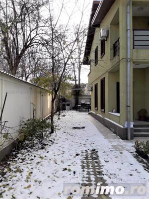 Vila de vanzare/inchiriere curte 300 mp zona Barbu Vacarescu - imagine 2
