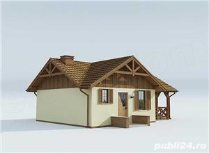Kit lemn casă vacanță 60 mp - imagine 3
