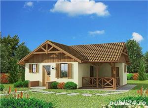 Kit lemn casă vacanță 60 mp - imagine 1