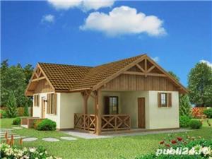Kit lemn casă vacanță 60 mp - imagine 2
