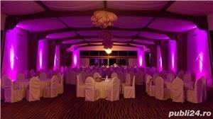 Lumini Arhitecturale/Ambientale nunta botez Bellagio Events Giurgiu - imagine 8