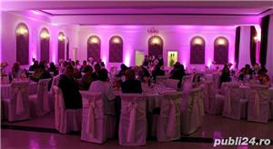 Lumini Arhitecturale/Ambientale nunta botez Bellagio Events Giurgiu - imagine 4