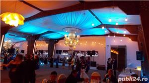 Lumini Arhitecturale/Ambientale nunta botez Bellagio Events Giurgiu - imagine 7