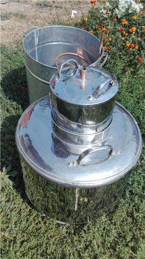 Vand cazane pentru țuică. Din 0738479173 0743909366 Inox . Alimentar Cupru alimentar avem pe stoc de - imagine 3