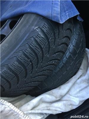 Jante BMW  cauciucuri iarna 5*120 195 65 R15 - imagine 1