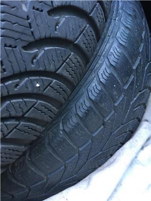 Jante BMW  cauciucuri iarna 5*120 195 65 R15 - imagine 4