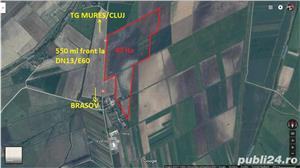 Teren intravilan - industrial - 40 ha - Brasov-dn13/e60 Tg Mures/Cluj - imagine 2