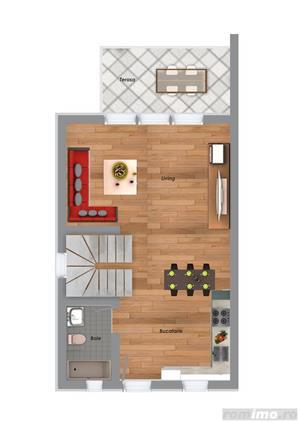Casa in regim insiruit, 3 camere, finisaje de calitate superioara, GIROC  - imagine 8