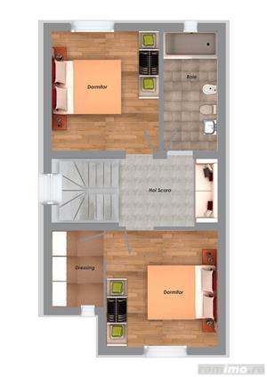 Casa in regim insiruit, 3 camere, finisaje de calitate superioara, GIROC  - imagine 7