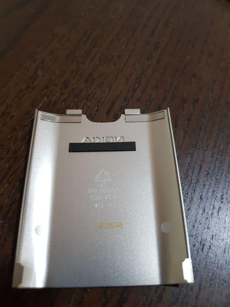 Capac metal Nokia C6 - nou original - imagine 2