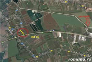 Vand (inchiriez) teren A1-Km27-Poenari - imagine 1
