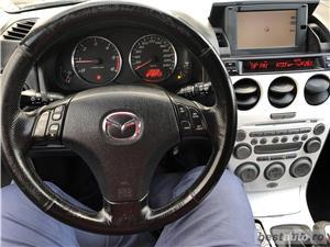 Mazda 6- 2,0d / NAVIGATIE . RATE FIXE , EGALE , FARA AVANS , EURO 4 , CLIMA , RECENT ADUSA  - imagine 7