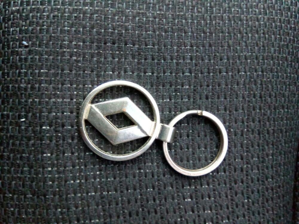 Breloc nichelat Renault - imagine 3