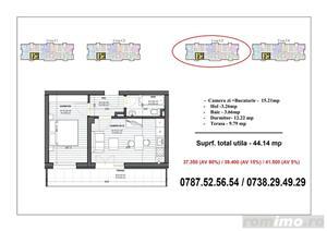 2 camere (tip studio) - Metrou Berceni (200 metri) - imagine 1