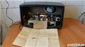 Radio amplificator lampi PHILIPS-MERKUR 473 functional 1953 - imagine 8