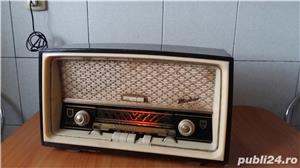 Radio amplificator lampi PHILIPS-MERKUR 473 functional 1953 - imagine 1