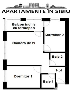 Apartamente in Sibiu direct de la CONSTRUCTOR!! 0% Comision - imagine 1