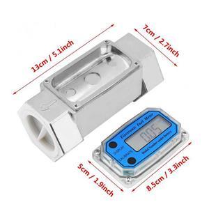 Contoar debiitmetru digital cisterna GPL sau apa lapte si LA POMPA MOTORINA  debitmetru 1.5 toli - imagine 2