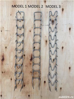 Vand zgarda din inox de 4 mm pentru caini ciobanesti si alti caini- 3 modele - imagine 1