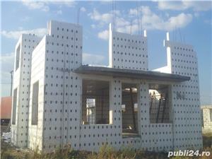 Cofraje din polistiren cu element de legatura reglabila pentru constructii,pretul de la 14 eur. m/p. - imagine 8