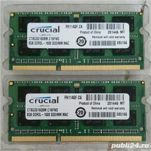 Memorii laptop 2 x 4 8 16 GB RAM DDR3_L 1600 MHz low volt_age SODIM_M - imagine 7