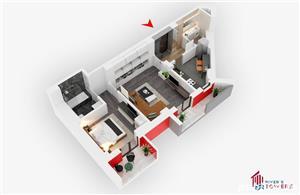 Dezvoltator-Apartament 2 camere River's Towers - imagine 8
