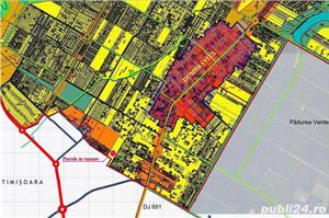 De vanzare  830 mp, strada urbanizata si locuita; In spate la Selgros strada Petru Tutea - imagine 2