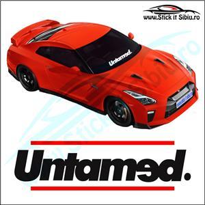 Sticker Parbriz-UNTAMED - Stickere Auto - imagine 1