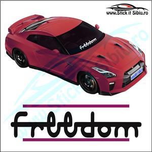 Sticker Parbriz-UNTAMED - Stickere Auto - imagine 5