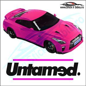 Sticker Parbriz-UNTAMED - Stickere Auto - imagine 2