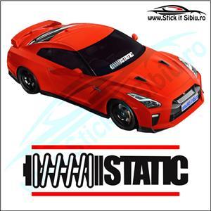 Sticker Parbriz-UNTAMED - Stickere Auto - imagine 3