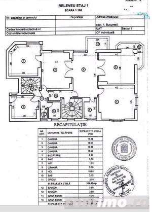Victoriei , I.G. Duca apartament in Vila ,5 cam etaj 1 - imagine 3