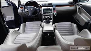 VW Volkswagen passat b6 2.0 tdi  140 cp  6 +1 viteze  highline piele- alcantara  - imagine 7