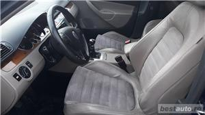 VW Volkswagen passat b6 2.0 tdi  140 cp  6 +1 viteze  highline piele- alcantara  - imagine 10