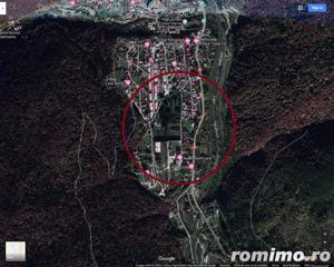 Teren in Sinaia: Suprafata = 466mp, front stradal 19ml. - imagine 3