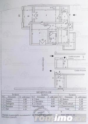 Apartament superb 2 camere Floreasca- Giuseppe Garibaldi, mobilat - imagine 11