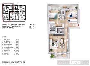 Apartament 3 Camere  Etaj 1  în zona Kiseleff  Bloc 2017 - imagine 1
