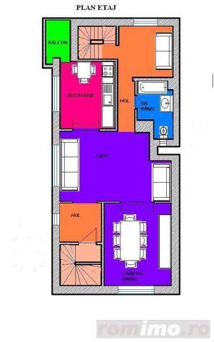 Primaverii-apartament in vila,et.1+mansarda - imagine 9