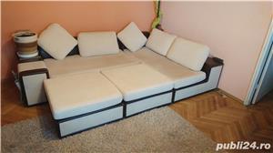 """Coltar sufragerie """"Smarty"""" de la staer cu fotolii/tabureti - imagine 3"""