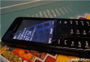Nokia 301 dual sim impecabil - imagine 1