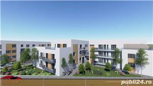 Dezvoltator apart tip penthouse 3 cam 2 bai la alb supraf 74mp+50mp Turnisor - imagine 1